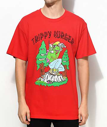 Trippy Burger Camp Trippy Red T-Shirt