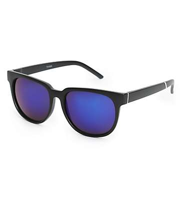 Tucker Matte Black Classic Sunglasses