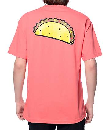 Tuesday Taco Coral T-Shirt
