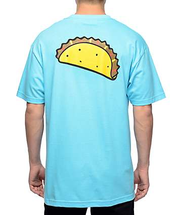 Tuesday Taco Logo Medium Blue T-Shirt