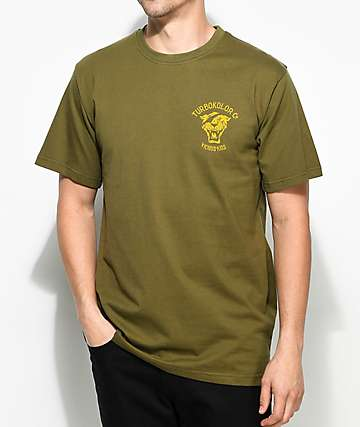Turbokolor Co. OG Tiger Green T-Shirt