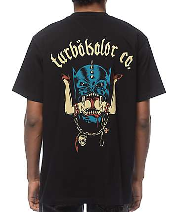 Turbokolor Head camiseta negra