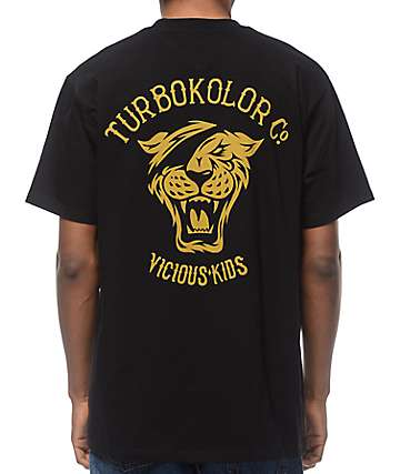 Turbokolor OG Tiger camiseta negra