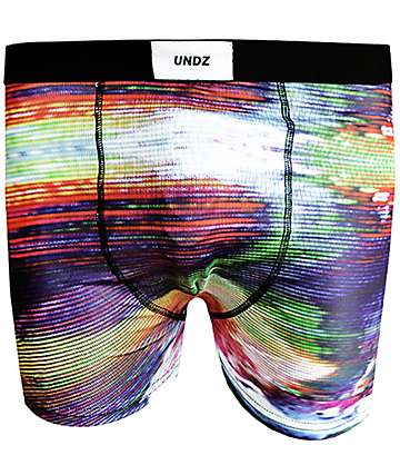 UNDZ Dark Glitch Black Boxer Briefs