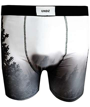 UNDZ Night Forest Black Boxer Briefs