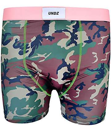 UNDZ Soft Camo Boxer Briefs