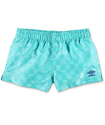 Umbro Checkerboard shorts deportivos en azul