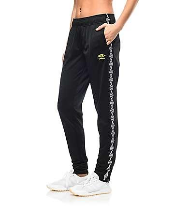 Umbro Diamond pantalones deportivos en negro