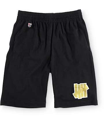Undefeated 5 Strike Black Jersey Shorts