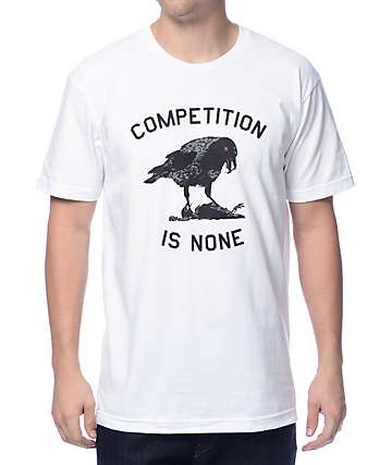 Undefeated Competition Is None White T-Shirt