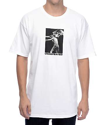 Undefeated Death Blow White T-Shirt