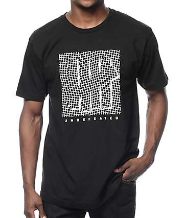 Undefeated Displacement Black T-Shirt