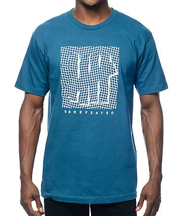 Undefeated Displacement Blue T-Shirt