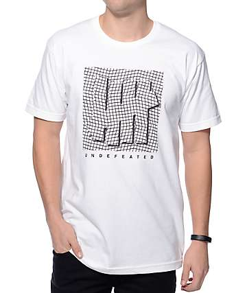 Undefeated Displacement White T-Shirt