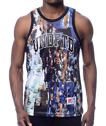 Undefeated Distortion Jersey Tank