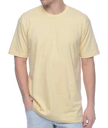 Undefeated Felt Patch Strike Tan T-Shirt