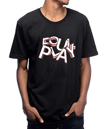Undefeated Foul Play Black T-Shirt