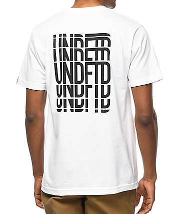 Undefeated Hillbombing camiseta blanca