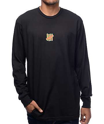 Undefeated Infrared Strike Long Sleeve Black T-Shirt