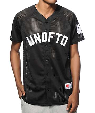 Undefeated Mesh Baseball Jersey