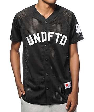 Undefeated Mesh Baseball Jersey