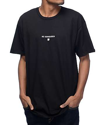 Undefeated No Surrender Black T-Shirt
