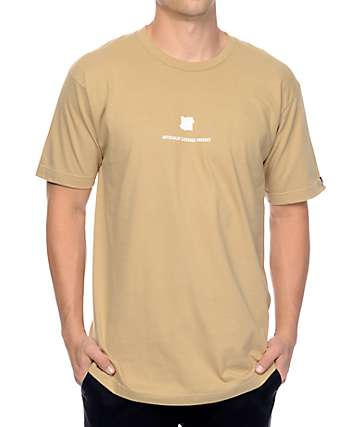 Undefeated Officially Licensed Tan T-Shirt