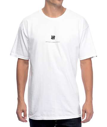Undefeated Officially Licensed White T-Shirt