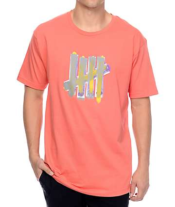 Undefeated Over Pink T-Shirt