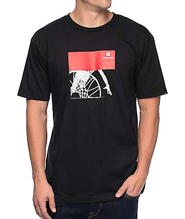 Undefeated Overhead Unders Black T-Shirt