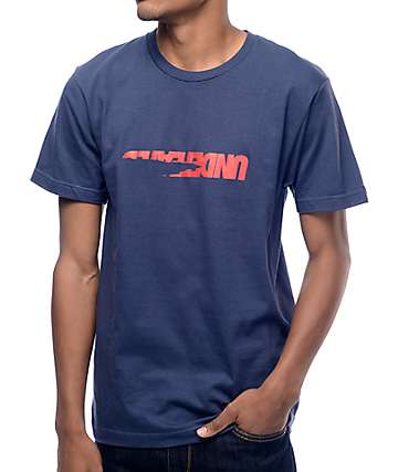 Undefeated Scrap Navy T-Shirt