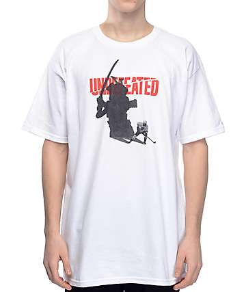 Undefeated Shadow Blades camiseta blanca