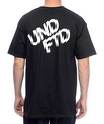 Undefeated Shattered Black T-Shirt