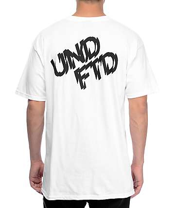 Undefeated Shattered White T-Shirt