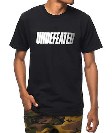 Undefeated Speedtone camiseta negra