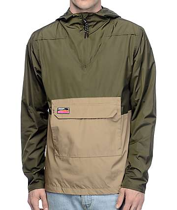 Undefeated Striker Olive Anorak Jacket