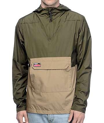 Undefeated Striker Olive Anorak Jacket