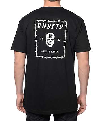 Undefeated Ugly Early Black T-Shirt