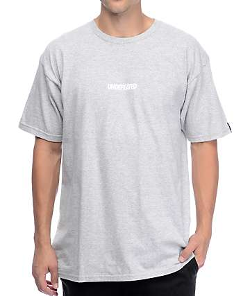 Undefeated Unbalanced Grey T-Shirt