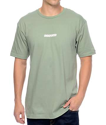 Undefeated Unbalanced Sage T-Shirt