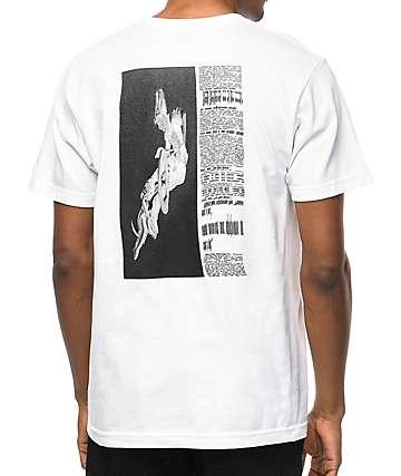 Undefeated Warp Trick camiseta blanca