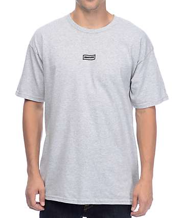 Undefeated Wavy Flag Grey T-Shirt