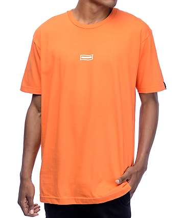 Undefeated Wavy Orange T-Shirt
