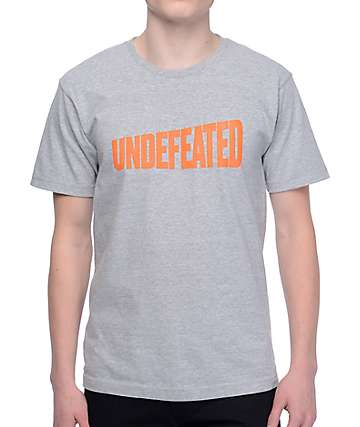 Undefeated Whole Wheat camiseta gris