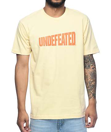 Undefeated Whole Wheat camiseta marrón