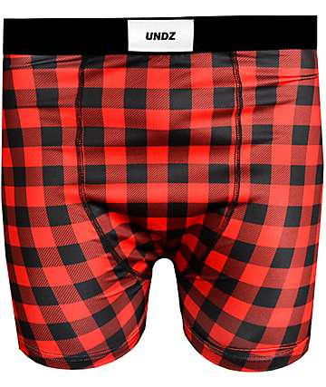 Undz Grunge Red Boxer Briefs