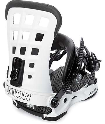Union Atlas White Snowboard Bindings