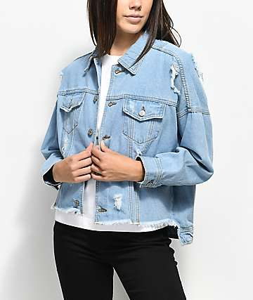 Union Bay Vintage Distressed Demim Jacket