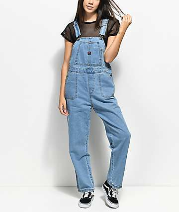 Union Bay Vintage Light Wash Overalls