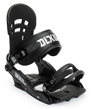 Union DLX Black Snowboard Bindings
